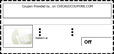 Chicago Coupons provides free printable coupons from local vendors. Restaurant Coupons. Chicago Discounts, Deals, Offers, Savings, Promo, and Specials.